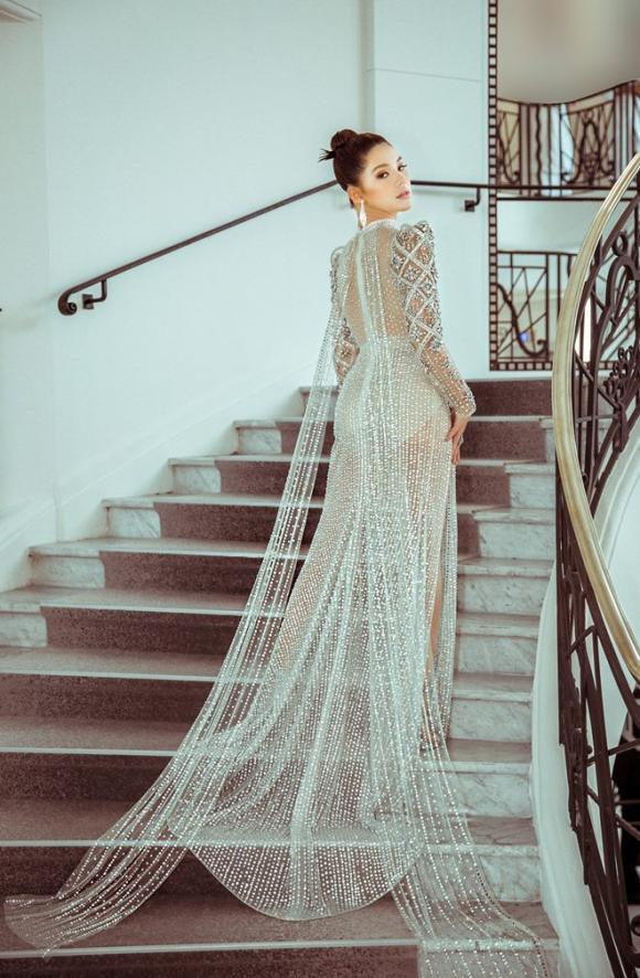 hoa hậu con nhà giàu Jolie Nguyễn, Joilie Nguyễn, sao Việt, Cannes