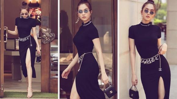 Nữ hoàng nội y,người mẫu ngọc trinh,street style ngọc trinh,sao việt