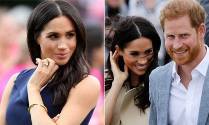 bé Archie, Hoàng tử Harry, công nương Meghan