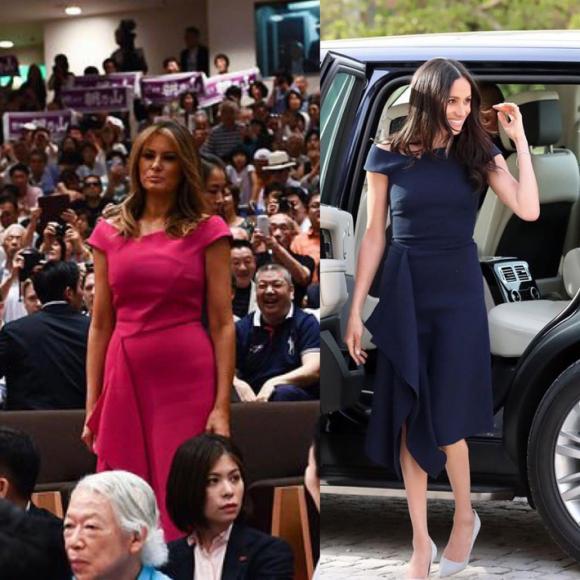 Melania Trump,Meghan Markle,Kate Middleton