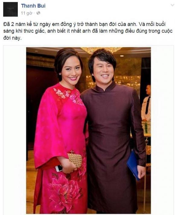 nhạc sĩ Thanh Bùi, vợ thanh bùi, sao Việt