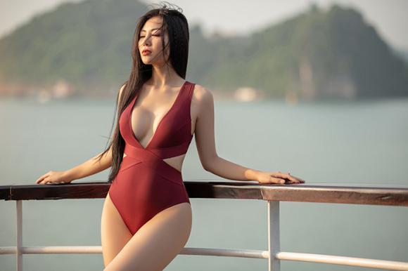 Diễn viên thanh hương,thanh hương diện bikini,sao việt