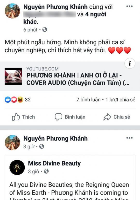 hoa hậu Phương Khánh, á hậu Mâu Thuỷ, sao Việt