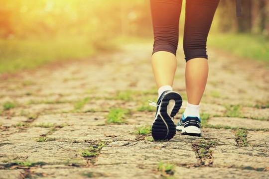 Đi bộ, chăm sóc sức khỏe, Sống thọ