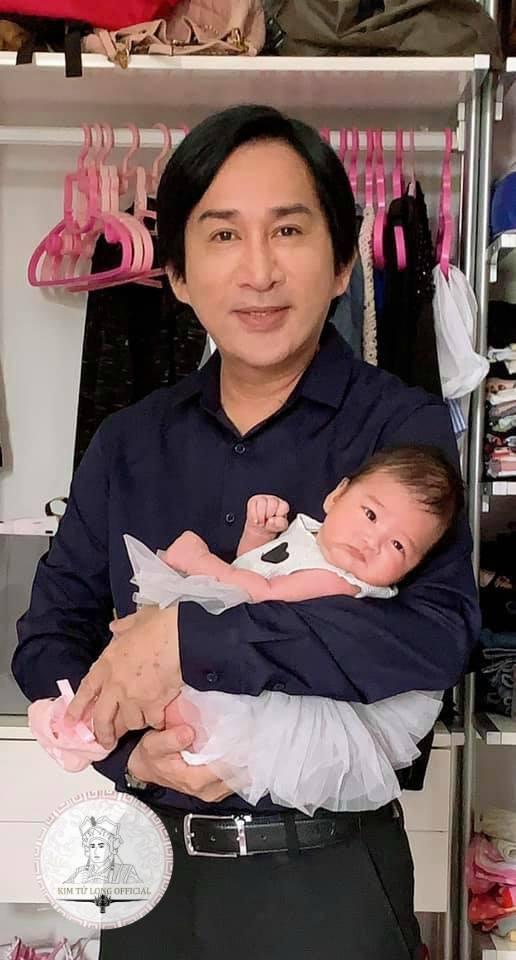 NSƯT Kim Tử Long, con gái NSƯT Kim Tử Long, cháu ngoại SƯT Kim Tử Long, sao Việt