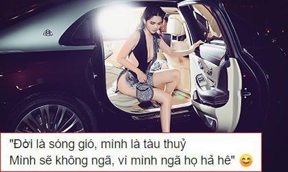 Linh Chi, Ngọc Trinh, sao Việt