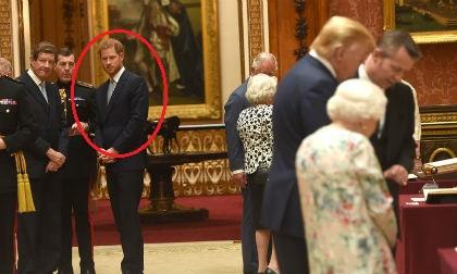 tổng thống mỹ, công nương meghan, hoàng tử harry