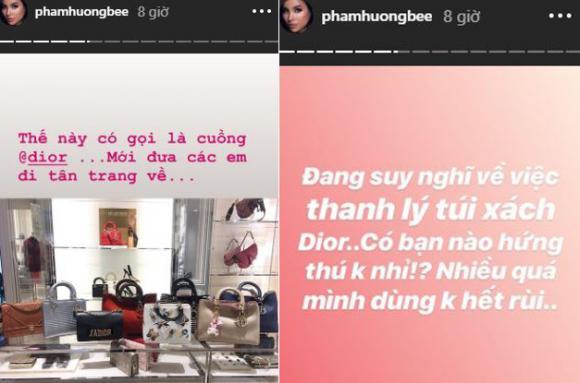 Phạm Hương, hoa hậu Phạm Hương, Phạm Hương ở mỹ, thời trang Phạm Hương, Phạm Hương bán túi xách