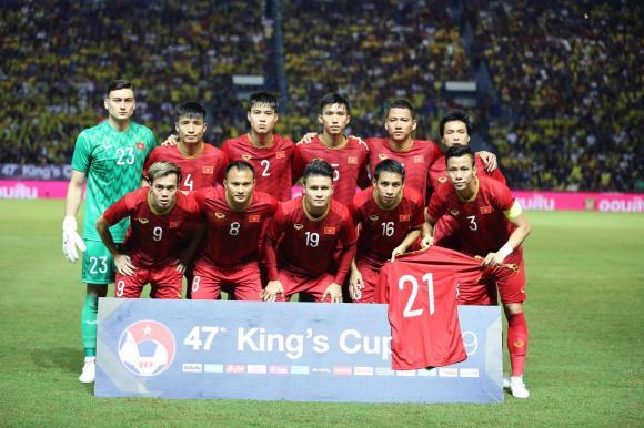Đội tuyển việt nam,trần đình trọng,King's Cup 2019