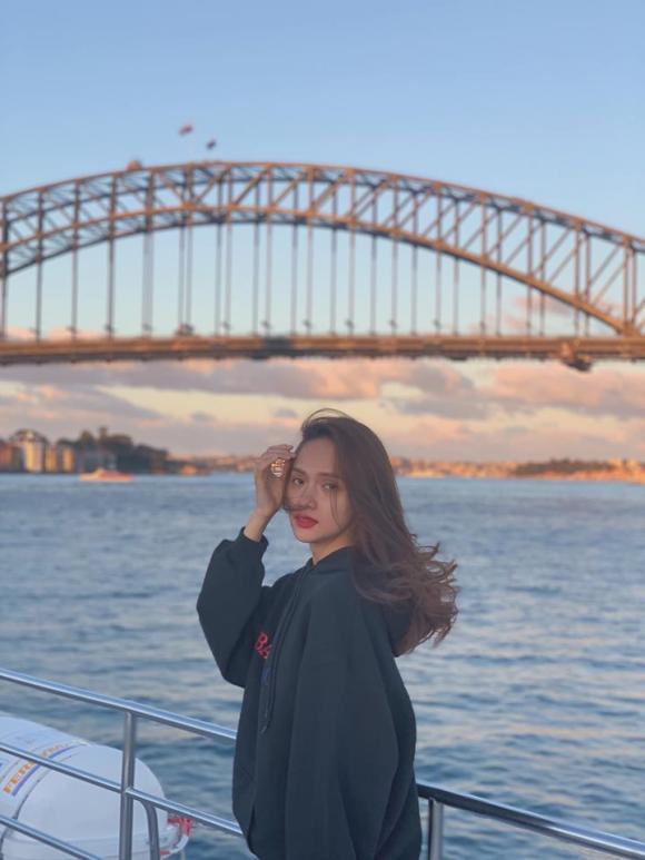 Hương Giang, hoa hậu Hương Giang, Hương Giang du lịch Úc