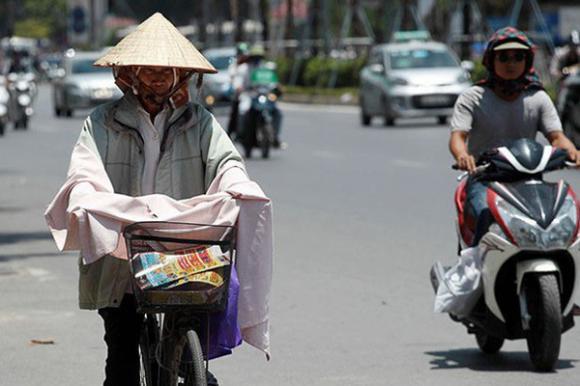 Dự báo thời tiết 7/6, tin thời tiết, Hà Nội nắng nóng