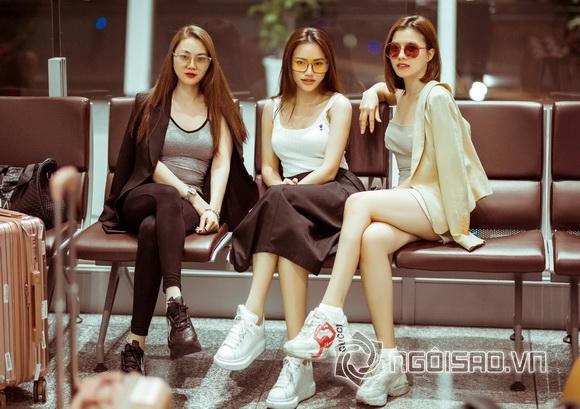 Hà Vi Vi, Trần Anh Huy, Hot girl việt