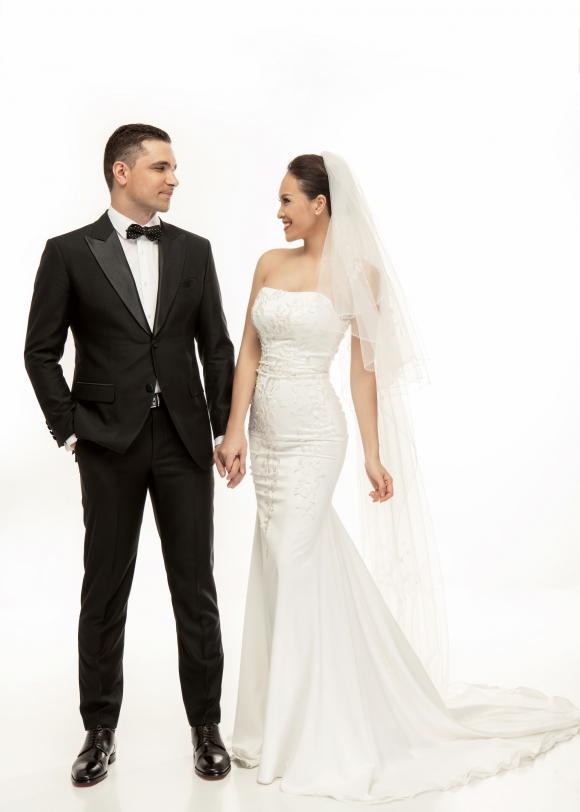 Siêu mẫu Phương Mai,Phương Mai,MC Phương Mai, sao Việt, ảnh cưới