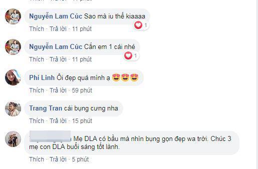 Diệp Lâm Anh , Diệp Lâm Anh mang bầu, sao Việt
