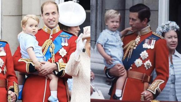 hoàng tử louis, hoàng tử harry, hoàng gia anh