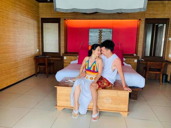 mc ốc thanh vân, Ốc Thanh Vân và chồng, sao Việt
