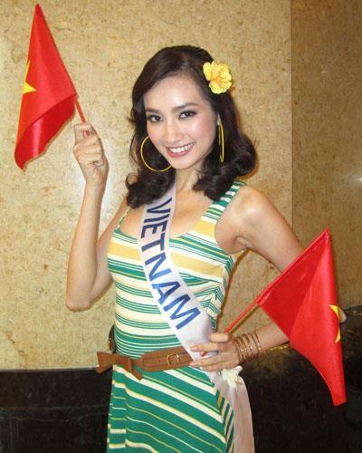 Hoa hậu Trúc Diễm, Bệnh cường giáp, Mắt lồi, Mặt sưng