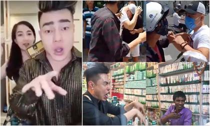 BV Ung Bướu, Lê Dương Bảo Lâm, Phát cơm từ thiện