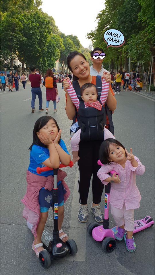MC Minh Trang, MC Minh Trang mang thai lần 4, Minh Trang VTV, Minh Trang mang bầu lần 4