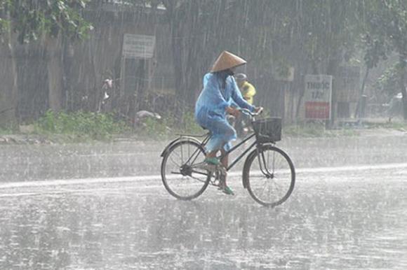 Dự báo thời tiết, Mưa dông, Thời tiết hôm nay