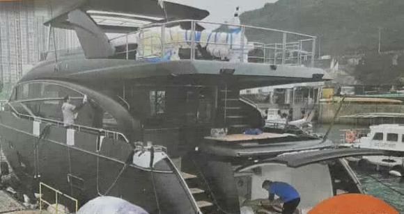Cổ Thiên Lạc, du thuyền, sao hong kong