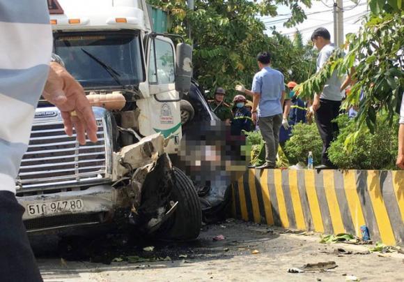 tai nạn giao thông, Tây Ninh, xe đầu kéo, container