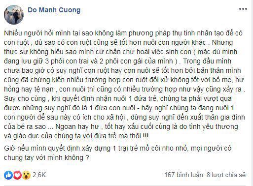 NTK Đỗ Mạnh Cường, con của NTK Đỗ Mạnh Cường , sao Việt