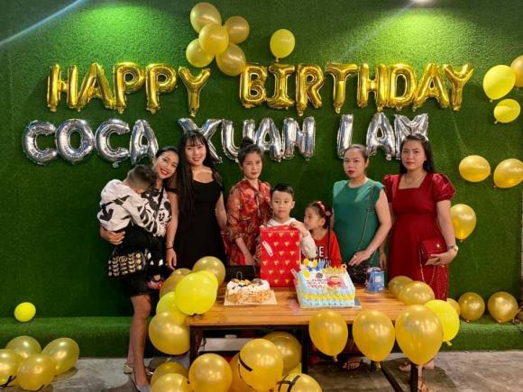 mc ốc thanh vân,diễn viên Mai Phương,sinh nhật con trai Ốc Thanh Vân, sao Việt