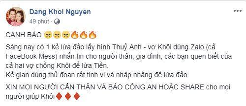 Đăng Khôi, em trai Đăng Khôi, sao Việt