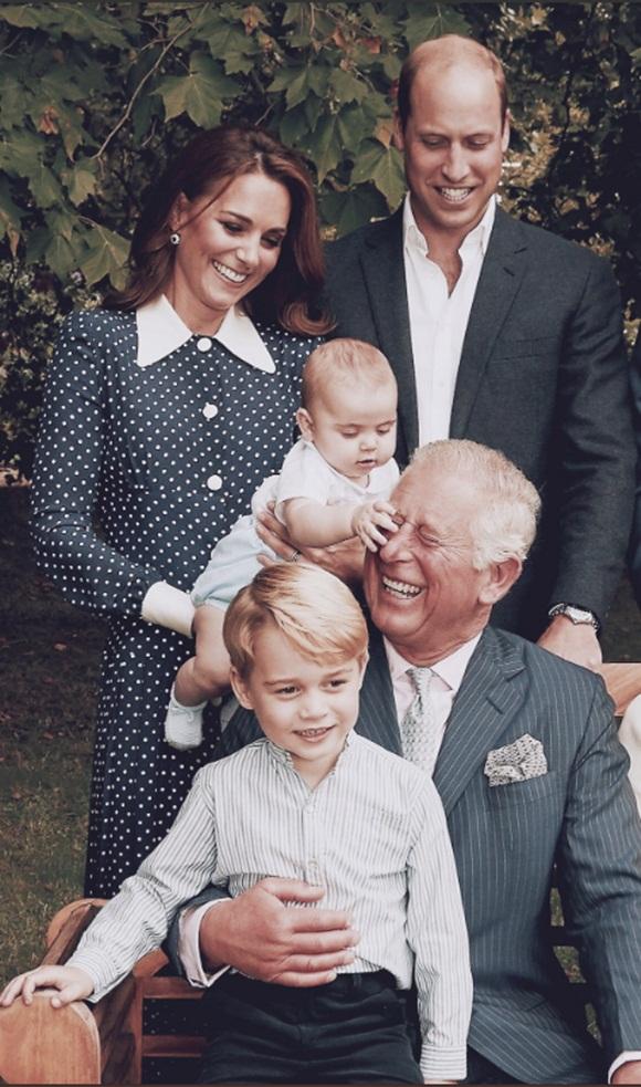 Thái tử Charles, Hoàng tử Louis, Hoàng tử William, Công nương Kate