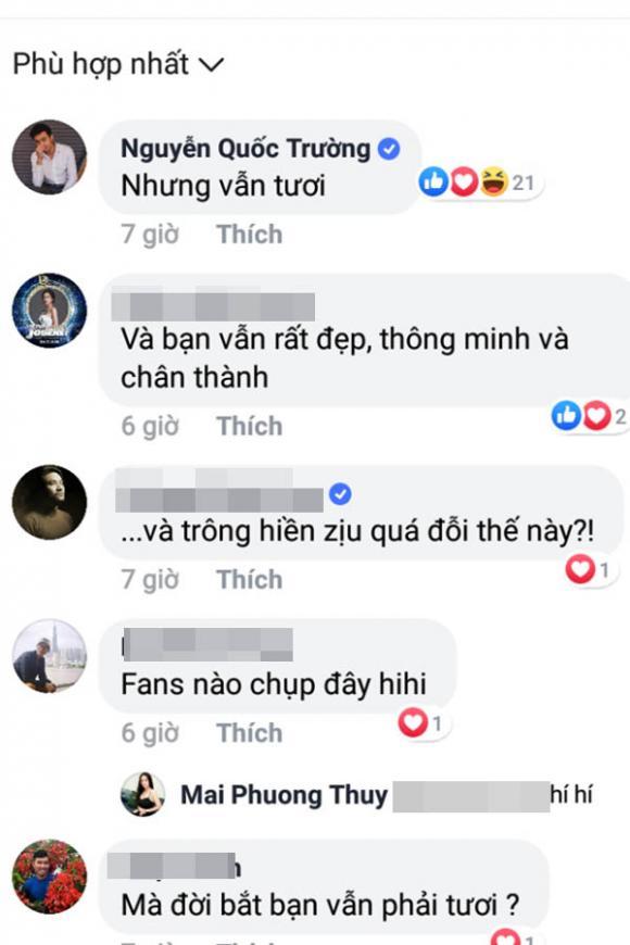 Quốc Trường, Mai Phương Thúy, sao Việt