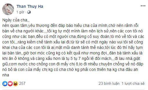 Thân Thúy Hà, con  Thân Thúy Hà, diễn viên Thân Thúy Hà, sao Việt