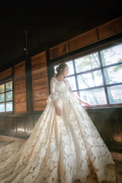Mỹ Tâm,cô dâu Mỹ Tâm,Mỹ Tâm mặc váy cưới,Mai Tài Phến,sao Việt
