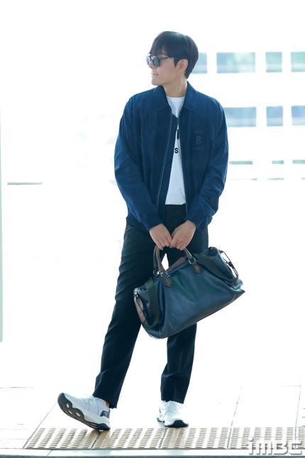 lee min ho, thời trang sân bay, sao hàn