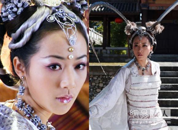 Hàn Tuyết,Lý Liên Kiệt,sao Hoa ngữ,mỹ nhân Tây Du Ký,Bạch Cốt Tinh