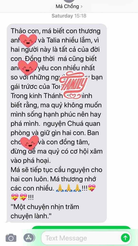 thanh thảo, mẹ chồng thanh thảo, sao Việt
