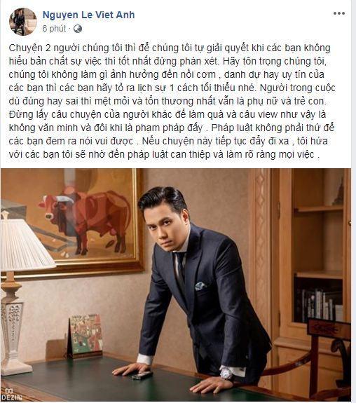 Việt Anh, Việt Anh ly hôn vợ, diễn viên Việt Anh, sao Việt