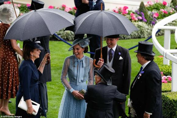 lễ hội Royal Ascot, công nương kate middleton, hoàng gia anh