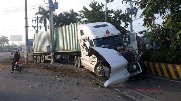 xe container tông chết 5 người, tai nạn giao thông, tai nạn chết người