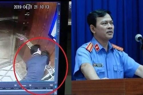 Nguyễn Hữu Linh, dâm ô trẻ em, sàm sỡ bé gái trong thang máy