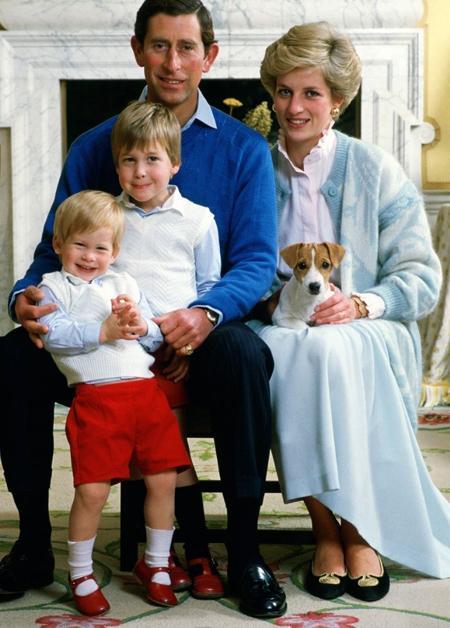 Charles,Camilla,Diana,Hoàng gia Anh