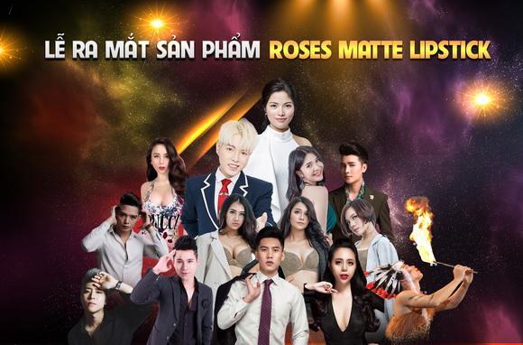 Roses Matte Lipstick Version 2019, Son lì