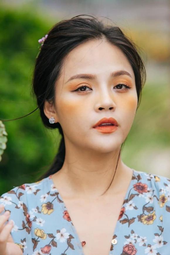 Thu Quỳnh,Thu Quỳnh make-up, Thu Quỳnh vai Huệ, Thu Quỳnh trang điểm quá tay