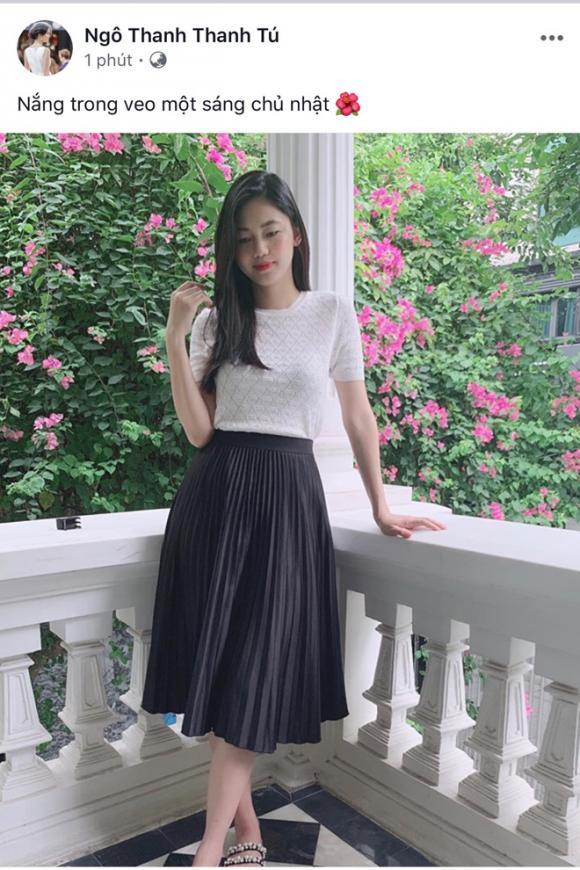Á hậu Thanh Tú sinh con, Á hậu Thanh Tú, Thanh Tú, sao Việt