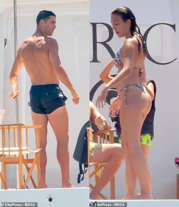 Cristiano Ronaldo,Georgina Rodriguez,sao bóng đá