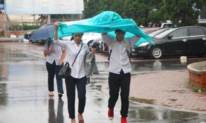 Dự báo thời tiết, Thời tiết hôm nay, nắng nóng, mưa dông