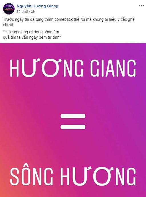 hoa hậu Hương Giang, Hương Giang Idol, sao