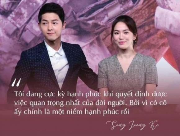 Song Hye Kyo, Song Joong Ki, Tâm sự gia đình