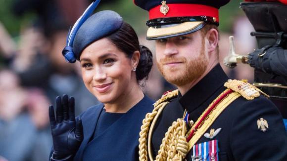 Hoàng gia Anh,Meghan Markle,Hoàng tử Harry
