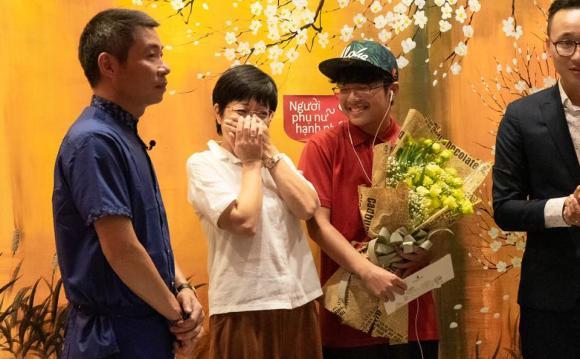 MC Thảo Vân, Công Lý, bố mẹ Công Lý, sao Việt